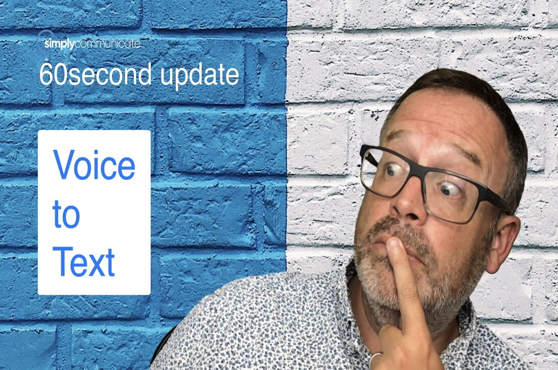 60 sec TechUpdate episode 10: Microsoft Word introduces Voice to Text
