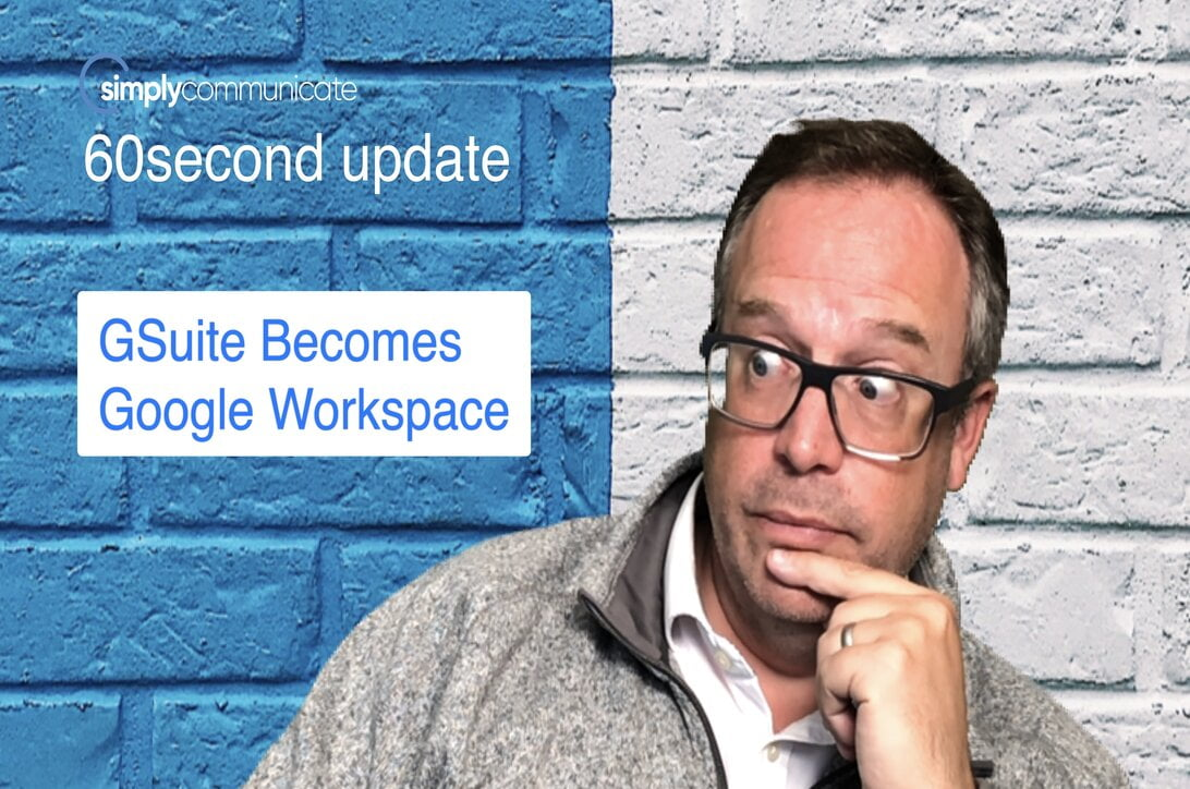 simply TechUpdate: google workspace