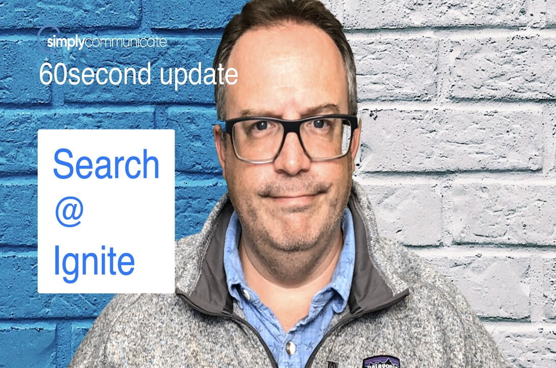 simply TechUpdate: Search at Ignite