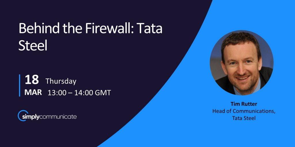 Tim Rutter: Behind the Firewall