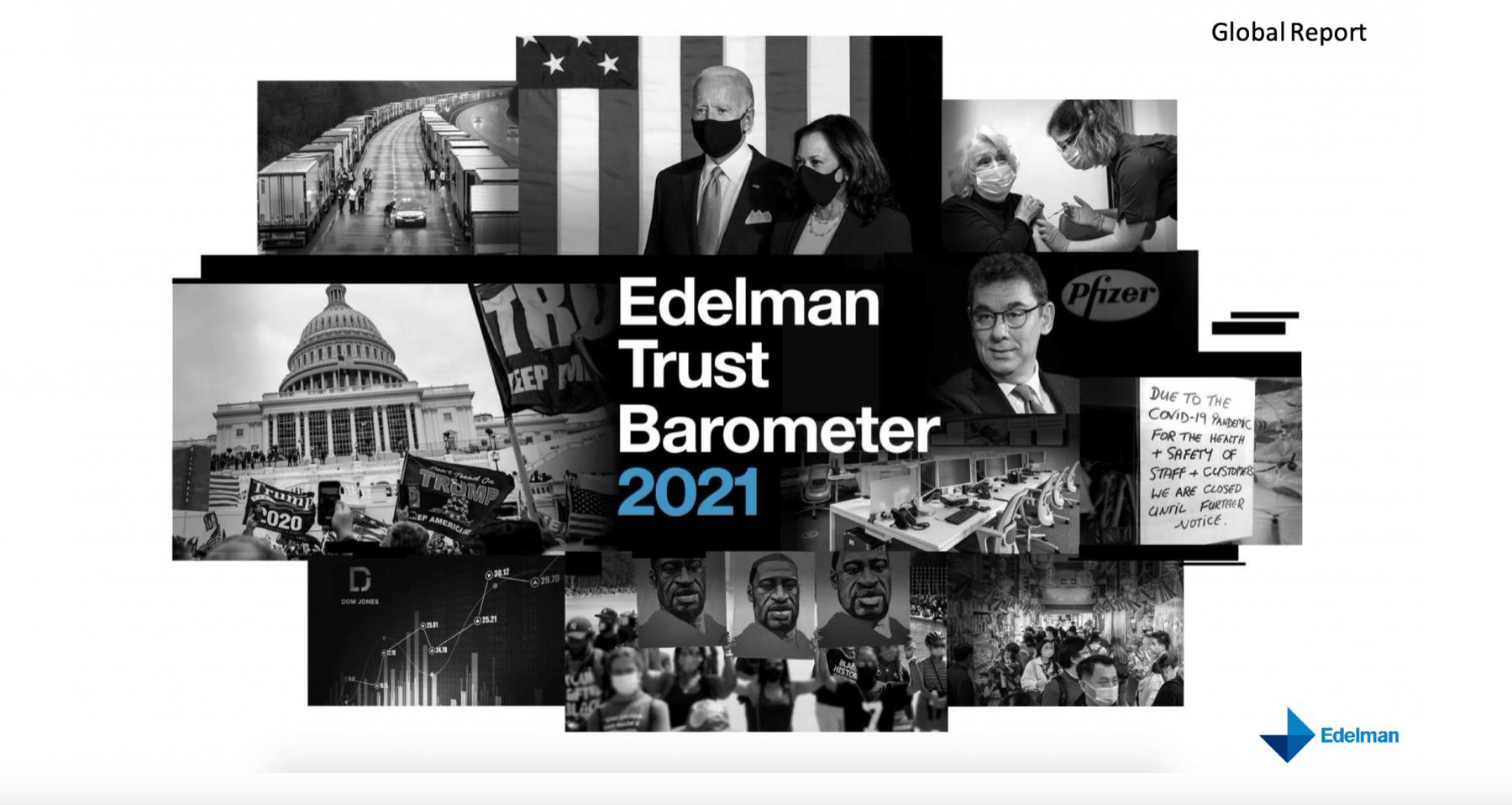 Edelman Trust release their 2020 Barometer report